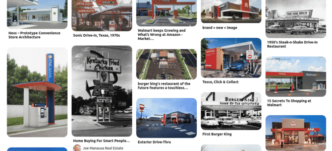 drive thru kiosks and menuboards