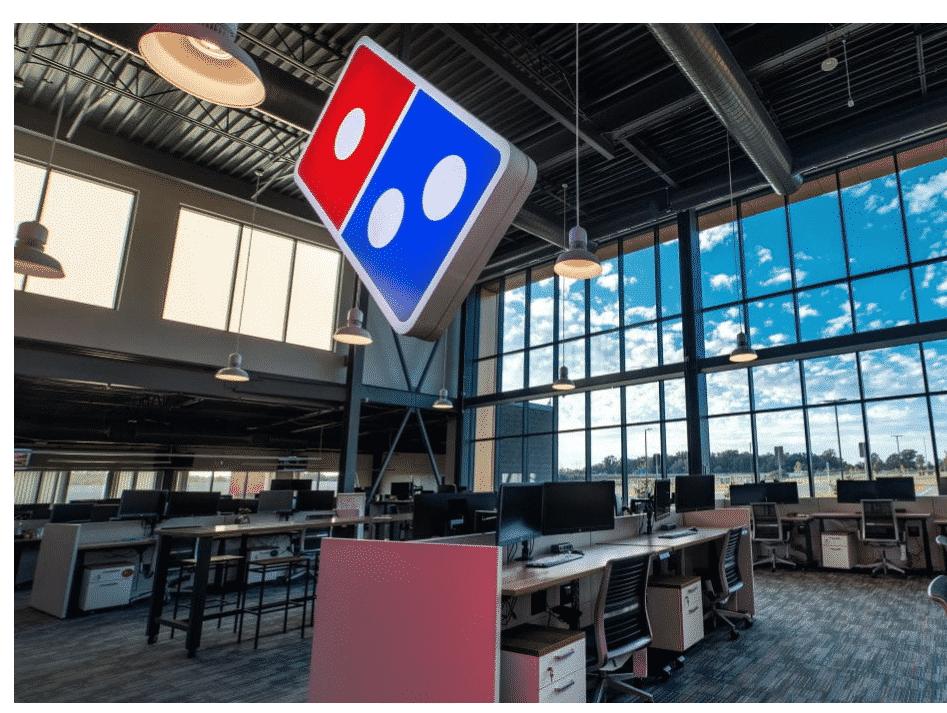 AI Dominos Pizza Delivery