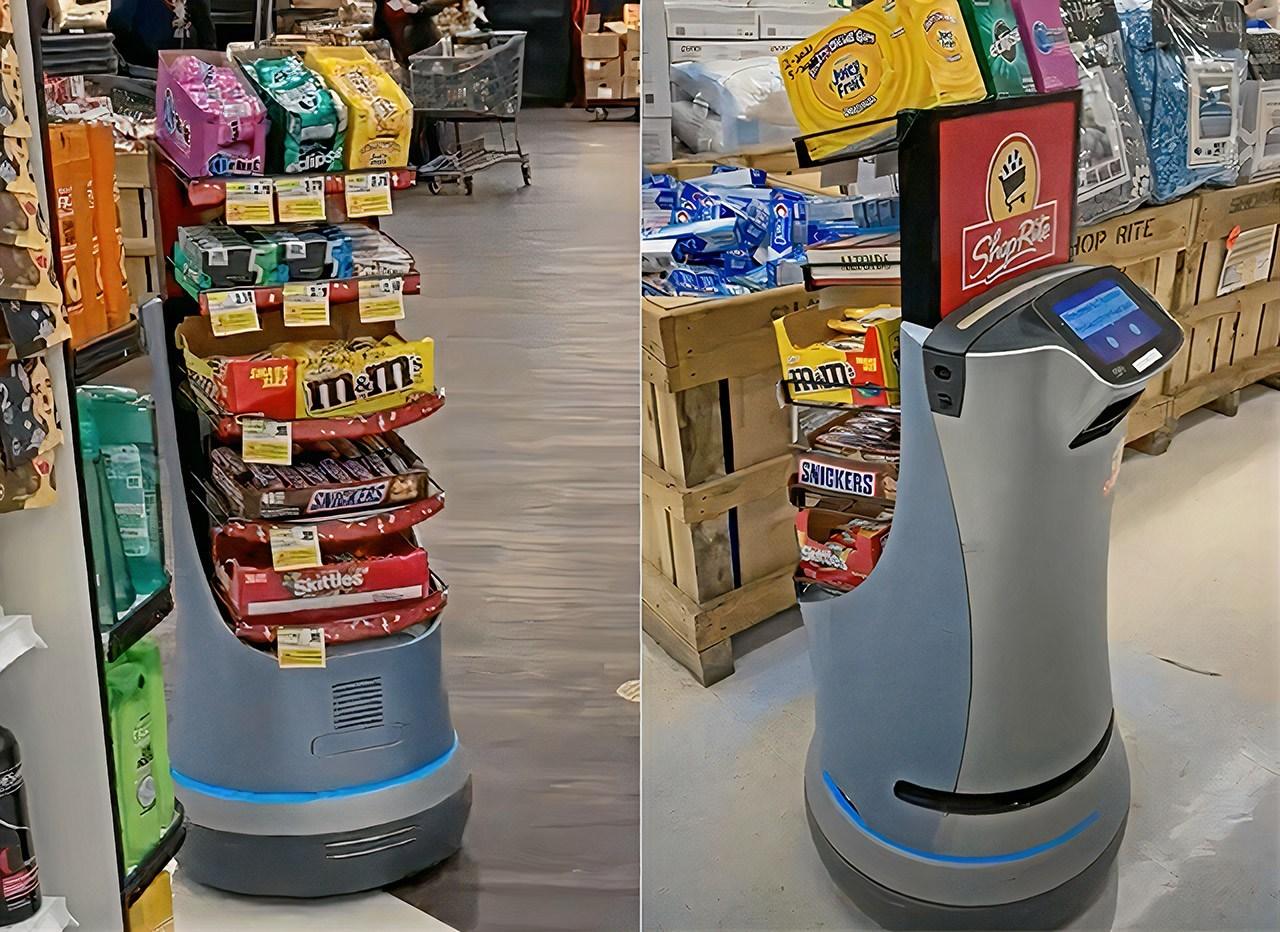 retail vending robot